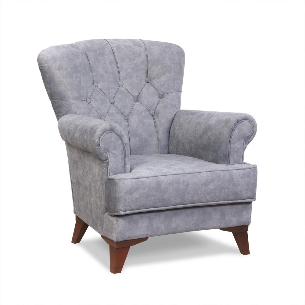 Fotelja Lana belo sandej namestaj